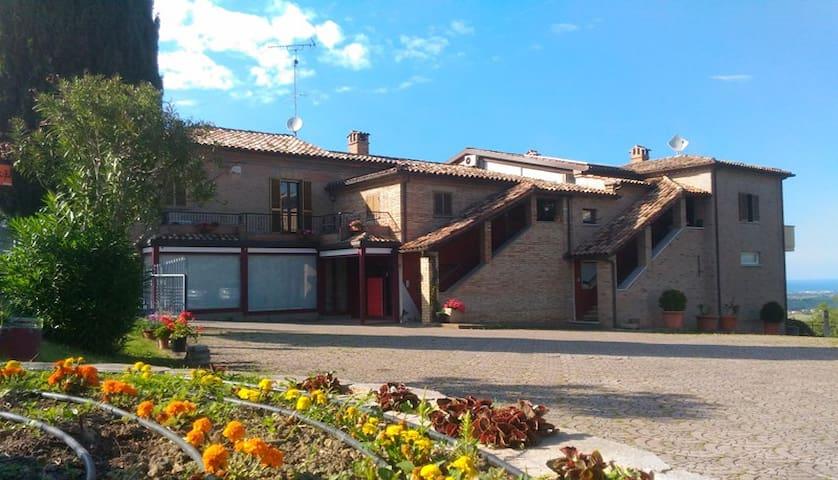 Residence Mulino del Mare-Saludecio-RIMINI - Saludecio - House