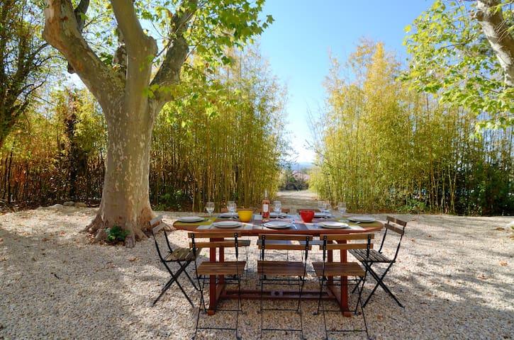 Bastide (XVIIIe), piscine, vue sur Sainte-Victoire - Aix-en-Provence - Villa