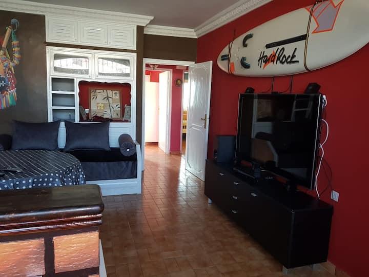 Appartement Charmant  pour les amoureux du Surf