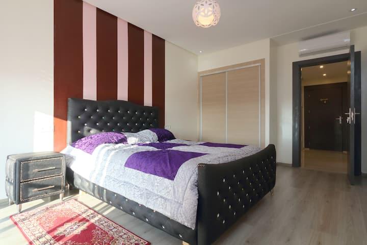 Bel appartement de 74m2 au centre de Marrakech