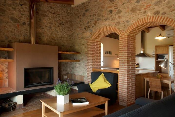 Apartamento rural entre viñedos - Vilajuïga - Casa