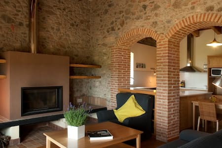 Apartamento rural entre viñedos - Vilajuïga - Hus