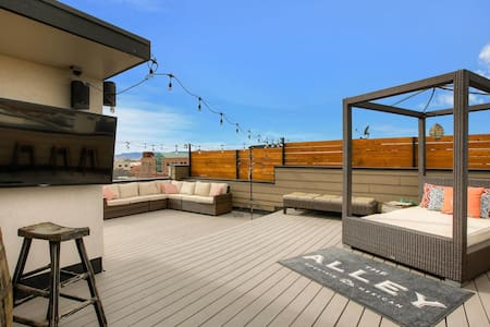 Great Downtown Littleton Condo with rooftop deck