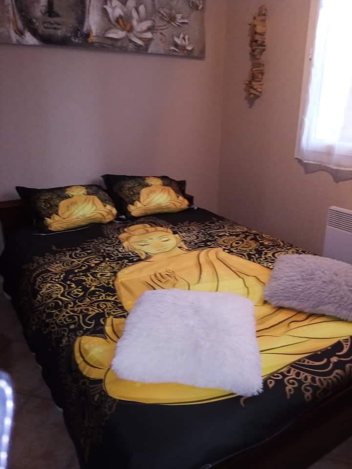 chambres meublees tres calmes avec micro onde
