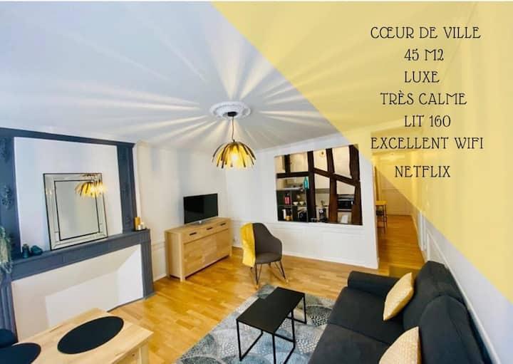 Appartement chic au cœur de Poitiers