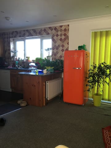 Double room in  beautiful family house