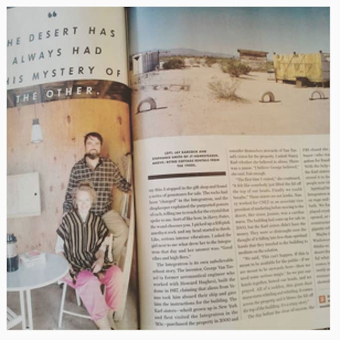 Recently featured in Sunset Magazine!