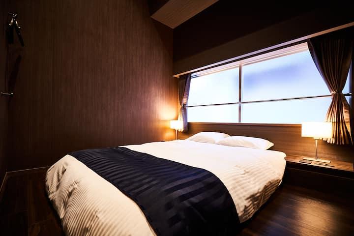 Double Barrier Free Room in Central of Osaka