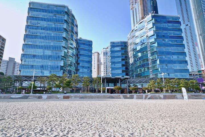 ♡♡♡팔레드시즈/해운대/70평(234m2) Family Vacation Beachview