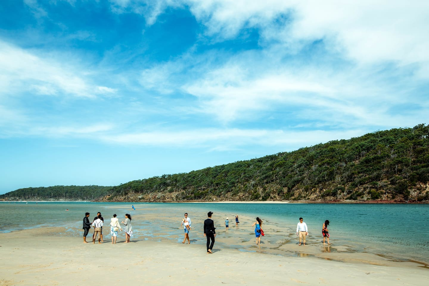 Pambula Rivermouth (so much space to share with friends!)