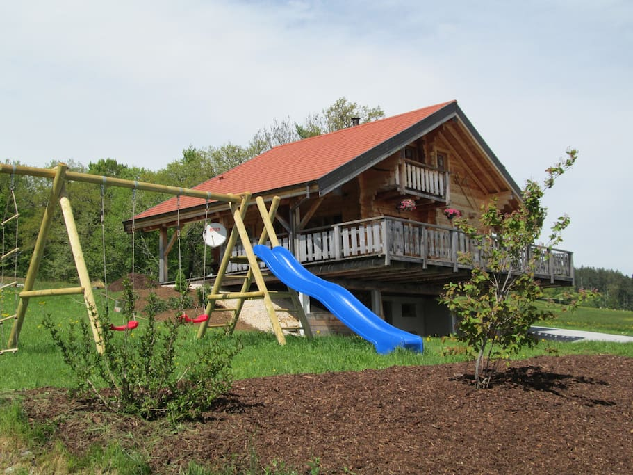 Chalet atypique au c ur de la nature chalets for rent in bretonvillers bourgogne franche - Chalet en bois swan valley ...