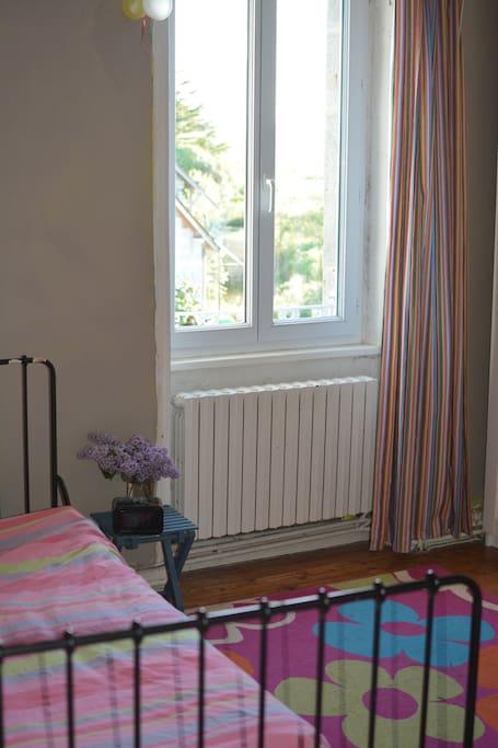 chambre 2 à un lit 15 m2