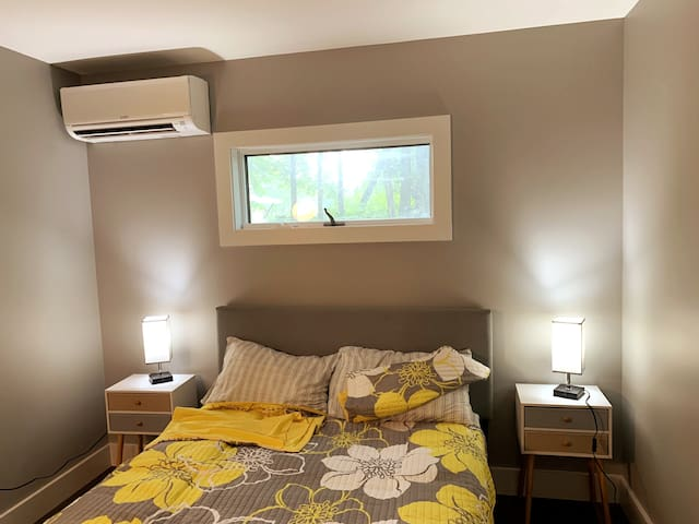 bedroom with A/C