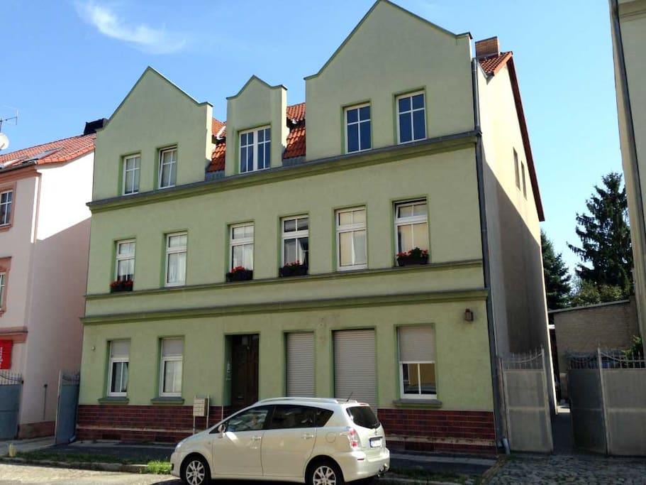 sch ne kleine ferienwohnung in cottbus brandenburg deutschland. Black Bedroom Furniture Sets. Home Design Ideas