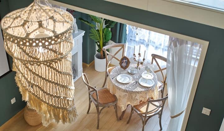 【 卡·萨 Ⅲ loft 100寸投影   西溪湿地 西湖】【吊椅】【地铁站】