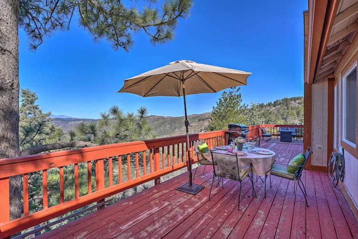 NEW! Running Springs Cabin w/ Deck & Mtn. Views!
