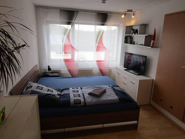 Ferienwohnung / 1-Zimmer Appartment 4km von Ulm