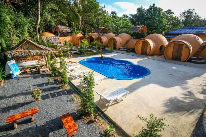 Krabi Life Homestay Room 2 - Klongpon - Igloo