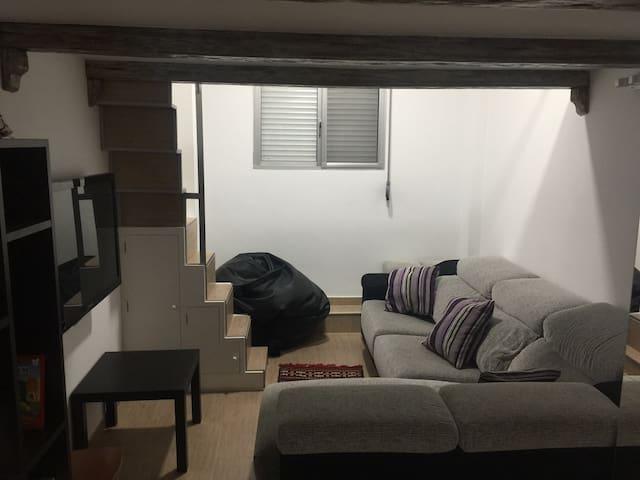 Loft con todas las comodidades