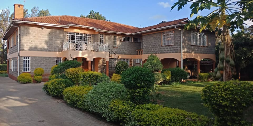 Fine living-serene 4bd in Muthaiga