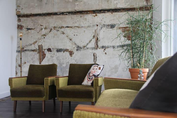 Het Fransche Schild, authentiek design appartement - Middelburg - Lejlighed