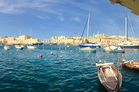 Waterfront Apartment in Isla with Panoramic views - Senglea - Wohnung