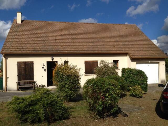 Charmante maison à 20 min de Deauville/Trouville