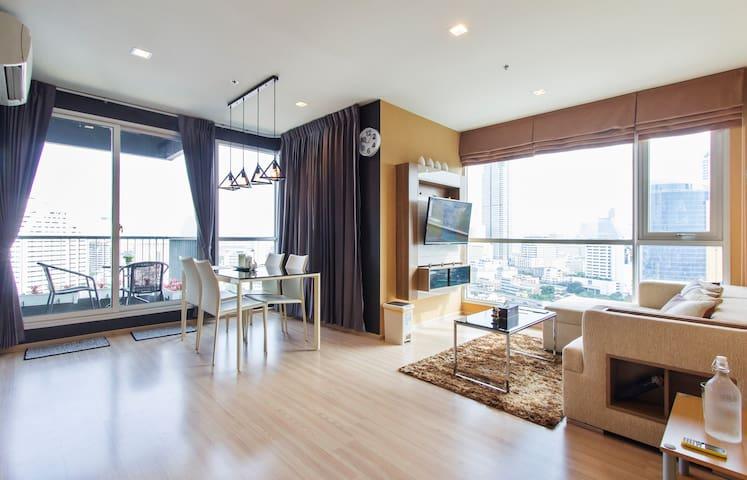 New Room in Bangkok City&River view - Bangkok - Apartamento