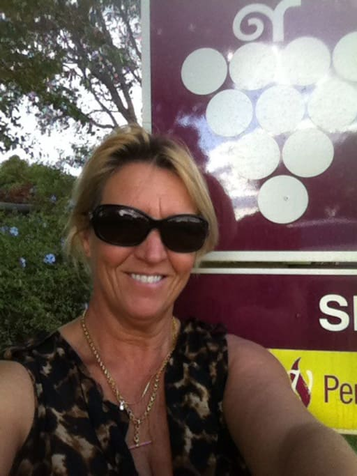 Meet your host! Winery tour visit
