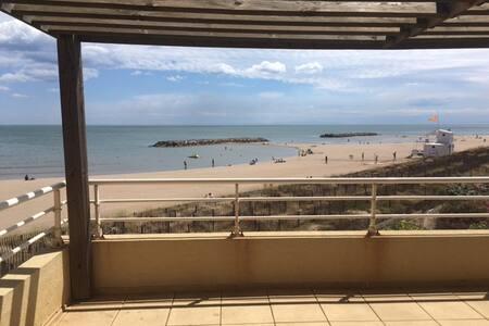 Appartement sur la plage, les pieds dans l'eau ! - Valras-Plage - 公寓