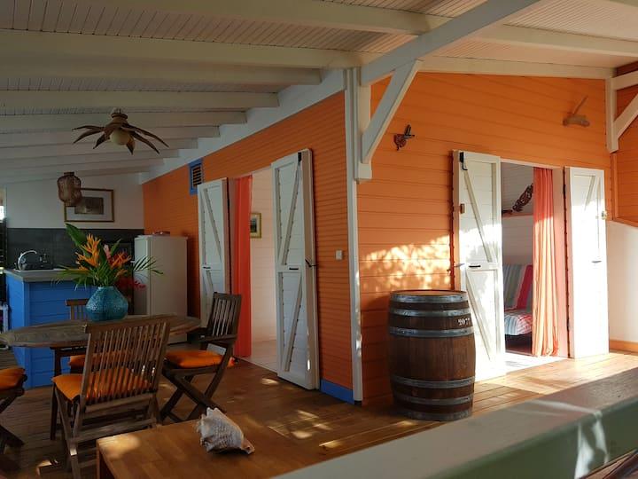 Bungalow Corail - 1 bedroom - pool/sea view