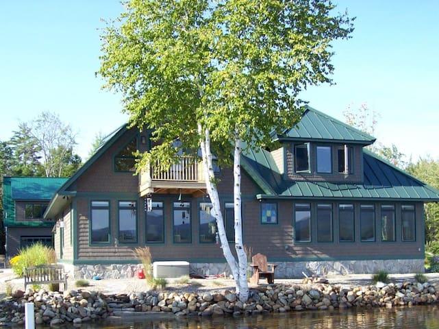 Thibault's Parkway Main House (Webb Lake)