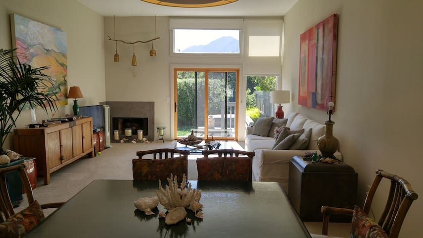 Beautiful quiet home w/ backyard and Mt. Tam view - Corte Madera - Casa