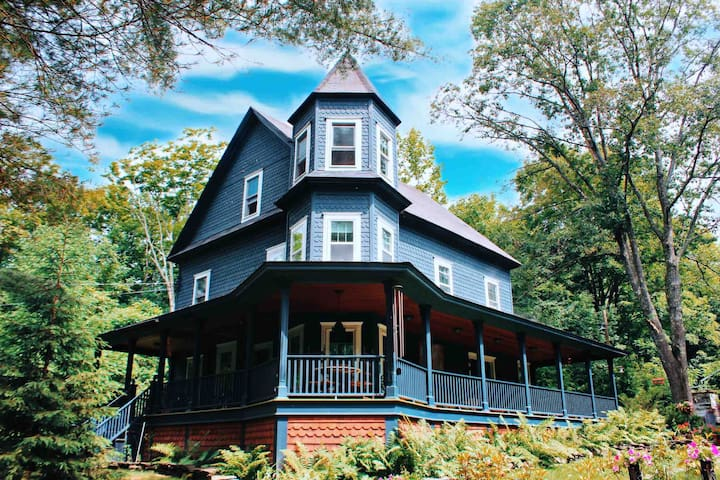 Queen Ann Victorian in the Catskills