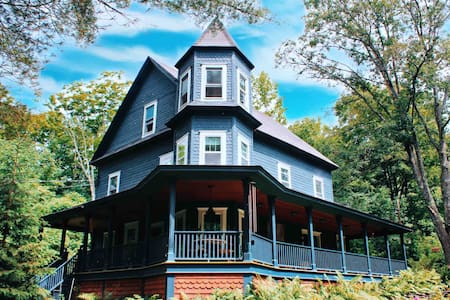 Queen Ann Victorian & Riverfront in the Catskills