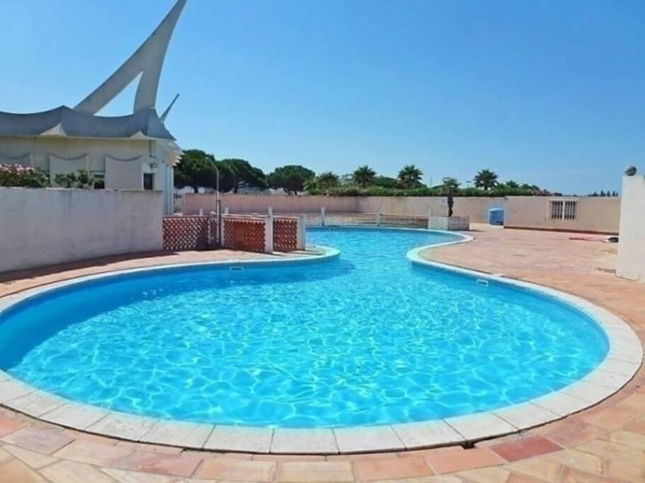 Apt port camargue face la mer avec piscine flats for - Hotel le grau du roi avec piscine ...