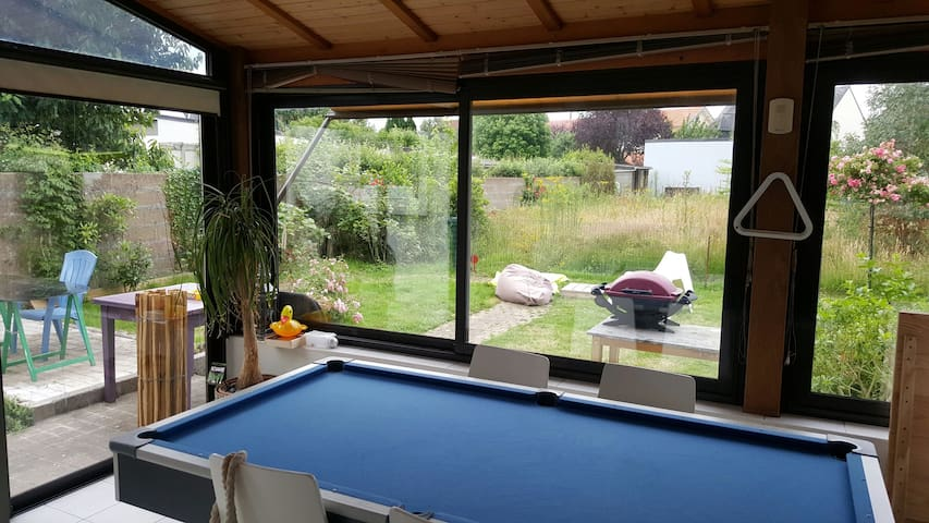 T3 véranda et jardin proche Nantes - Nantes - Huoneisto