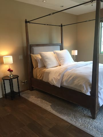 Bedroom in wine country