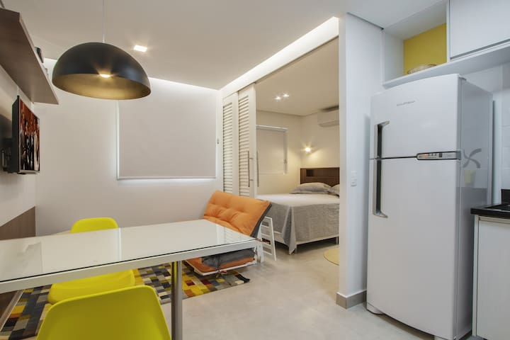 Cozy studio. Great location. - Brasília - Apartamento
