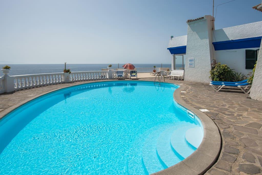 Large 12 x 6 meters pool