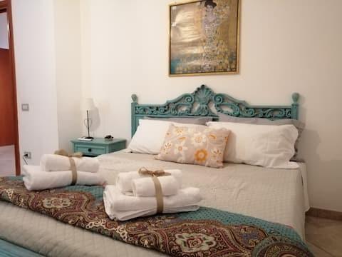 Camera grande - letto matrimoniale