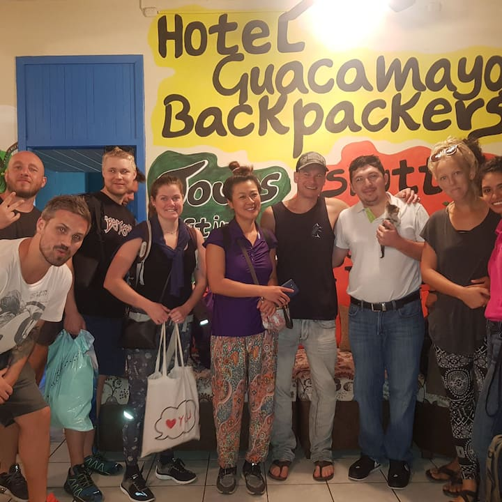 Hostel Backpaker La Ceiba Antes de Utila / Roatan