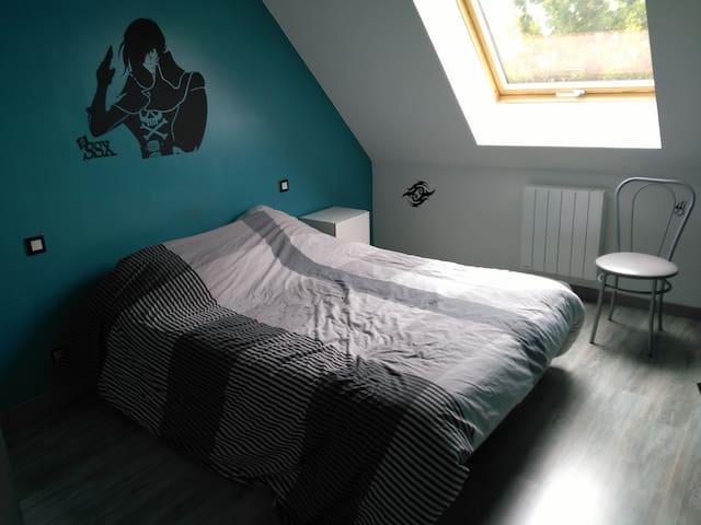 3 chambres proche 24h du mans - Saint-Gervais-en-Belin - Aamiaismajoitus