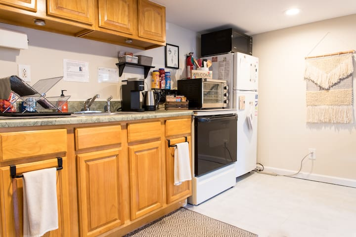 Efficiency Kitchen with many amenities!