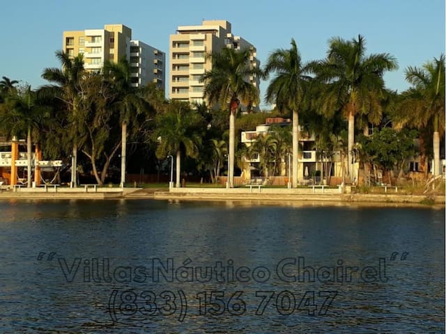 Casa#5, 5 recamaras, Tampico frente Laguna Chairel