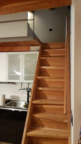 La scala per il soppalco