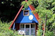 Idyllisches Ferienhaus in der Natur