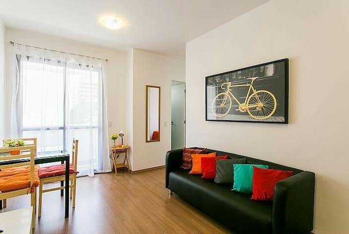 Moderno ap. em Perdizes a 1,7Km do Allianz Parque