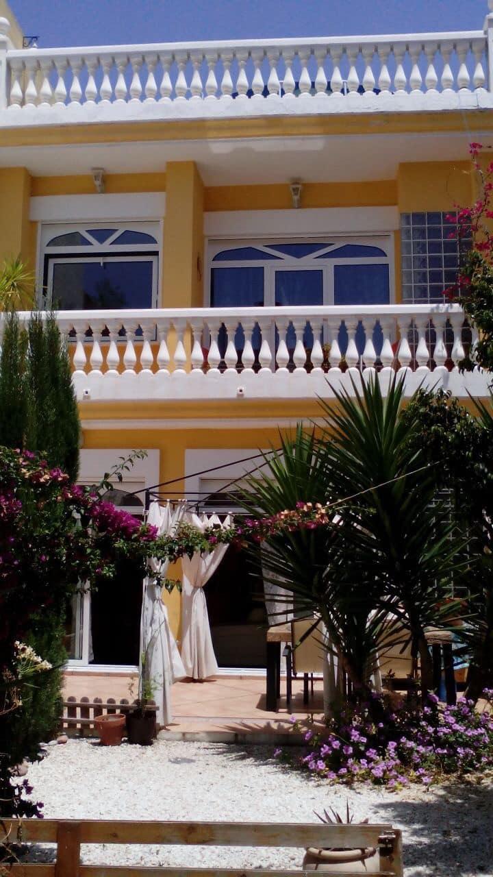 Habitación doble en mansión
