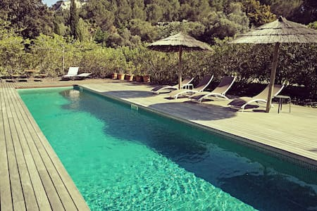 CASTELL D'OR cozy cottage with pool